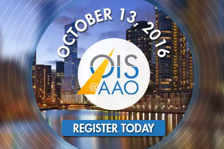 October 2016 – Catch us at OIS / AAO October 13 – 18th – Chicago
